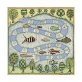 The Fish Game Reproduction procédé giclée par Robin Betterley