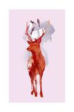 Useless Deer Giclee-trykk av Robert Farkas