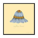Sunflower Bonnet Reproduction procédé giclée par Robin Betterley
