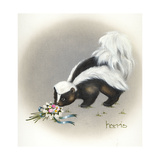 Heaven Scent Giclee Print by Peggy Harris