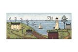 Little Lighthouse Reproduction procédé giclée par Robin Betterley