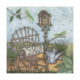 Welcome to the Garden 2 Reproduction procédé giclée par Robin Betterley