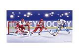 Hockey Reproduction procédé giclée par Olga And Alexey Drozdov