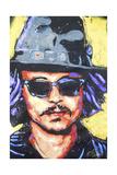 Depp Art 002 Giclee-trykk av Rock Demarco