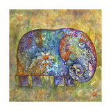 Runes Elephant Giclée-vedos tekijänä Oxana Zaika