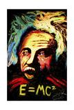 Einstein Signed Giclee Print by Rock Demarco