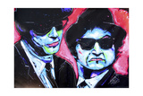 Blues Bros 001 Giclée-tryk af Rock Demarco