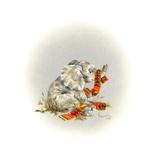 Elephant Giclee Print by Peggy Harris