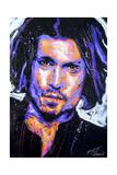 Depp Art 001 Giclee Print by Rock Demarco