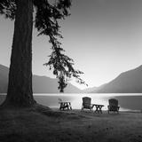 Crescent Lake 1 Reproduction photographique par Moises Levy