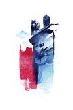 This Is My Town Giclee Print by Robert Farkas