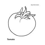 Tomate Reproduction procédé giclée par Olga And Alexey Drozdov