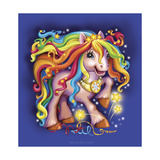 Pony Rainbow Reproduction procédé giclée par Olga And Alexey Drozdov