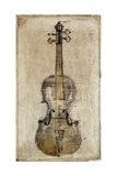 Violin 3 Giclee Print by  Symposium Design