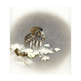 Snow Daze Giclee Print by Peggy Harris