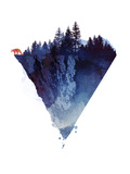Near Tothe Edge Giclee Print by Robert Farkas