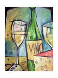 Vin Et Fromage Lámina giclée por Tim Nyberg