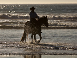 Cowboy on a Horse Photographic Print by Nora Hernandez