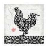 Rooster II B&W Lámina giclée por Stephanie Marrott