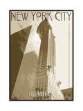 New York Reproduction procédé giclée par  Sidney Paul & Co.