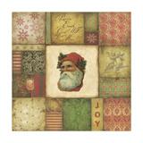 Santa Tapestry Lámina giclée por Stephanie Marrott