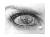 Tearful Encounter Giclee-trykk av Thomas Barbey