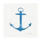 Anchor in Blue Lámina giclée por Stephanie Marrott