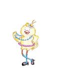 Chic Chick Reproduction procédé giclée par Valarie Wade
