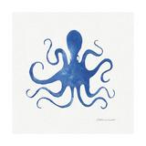 Octopus in Blue Lámina giclée por Stephanie Marrott