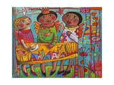 Daydreaming of Puebla - Mexico Giclée-tryk af Sara Catena