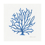 Coral in Blue Lámina giclée por Stephanie Marrott