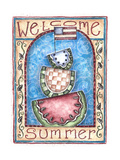 Welcome Summer Giclee Print by Shelly Rasche