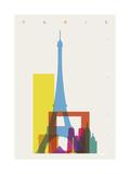 Paris Giclée-Druck von Yoni Alter
