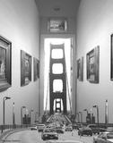 Drive Thru Gallery Giclée-tryk af Thomas Barbey