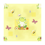 Froggie Friends Reproduction procédé giclée par Valarie Wade