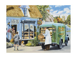 The Village Bakery Giclee Print by Trevor Mitchell