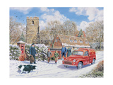 Christmas Post Giclee Print by Trevor Mitchell