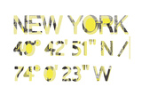New York Reproduction procédé giclée par  Whoartnow