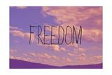 Freiheit Giclée-Druck von  Vintage Skies