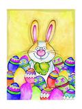 Lapin de Pâques Reproduction procédé giclée par Valarie Wade