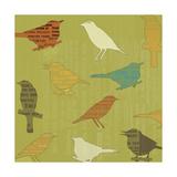 Song Birds Reproduction procédé giclée par  Whoartnow