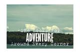 She Looks for Adventure Lámina giclée por  Vintage Skies