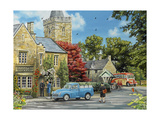 At the Vicarage Giclee Print by Trevor Mitchell