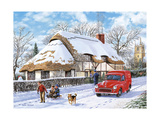 Winter - Puzzle Giclee Print by Trevor Mitchell