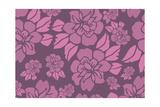 Modèle floral Reproduction procédé giclée par  Whoartnow