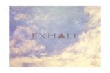 Exhale Giclée-Druck von  Vintage Skies