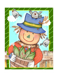 The Happy Harvest Giclee Print by Valarie Wade