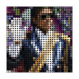 Michael Jackson Giclee-trykk av Yoni Alter