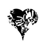 Cœur Reproduction procédé giclée par  Whoartnow