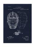 Mask for Baseball Catcher Giclée-Druck von Tina Lavoie